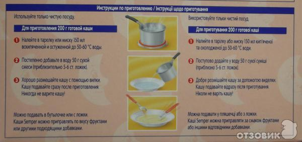 Прикорм каши — порядок введения для грудничка