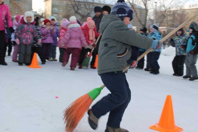 Зимние забавы для детей | меню недели