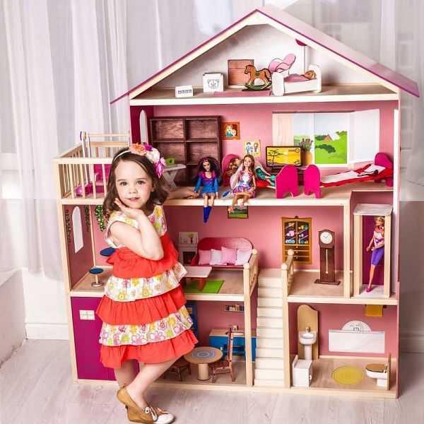 Лучшие кукольные дома «нового света» - это деревянные домики для кукол барби от kidkraft (кидкрафт)!
