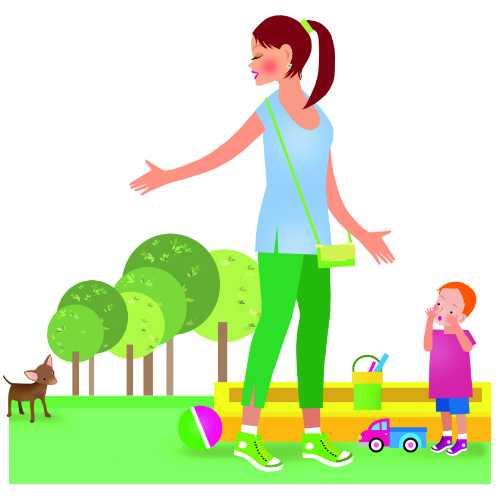 Как увести ребенка с площадки без слез   уроки для мам