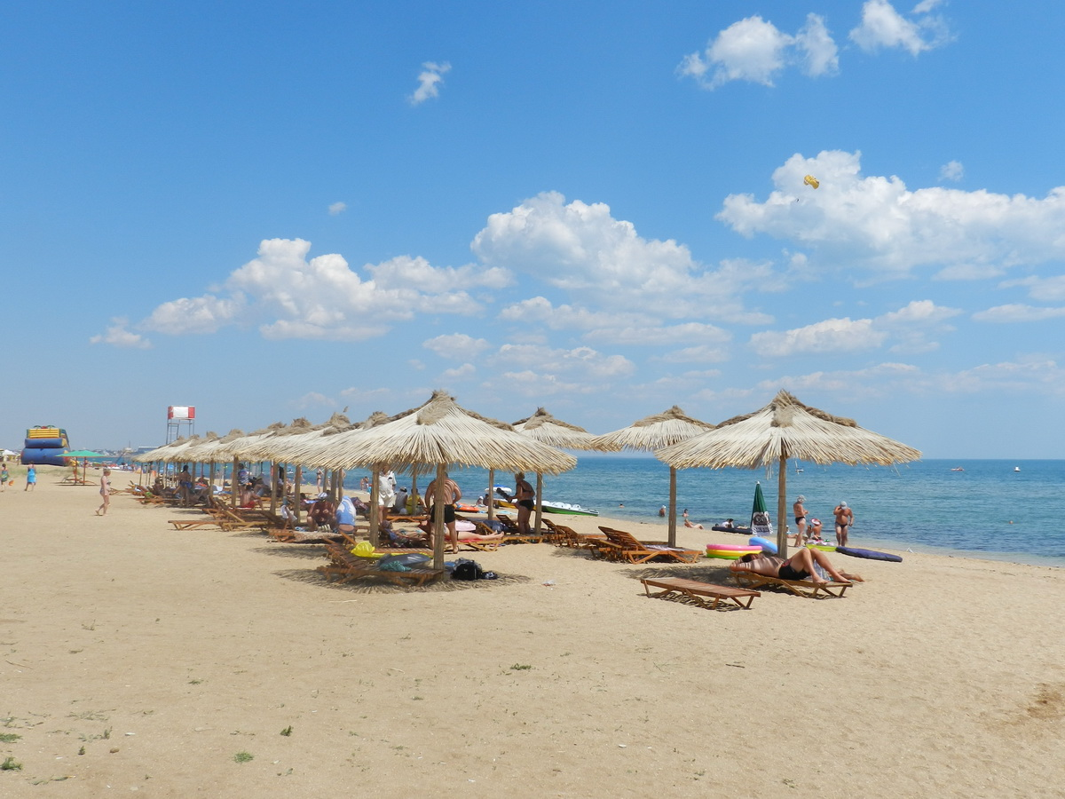 Самые чистые пляжи крыма  с фото и картой: песчаные пляжи крыма и чистое море