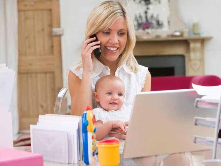 Мама в декрете: 4 важных хитрости