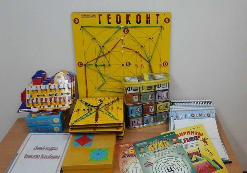 Развивающая игра-конструктор: геоконт воскобовича