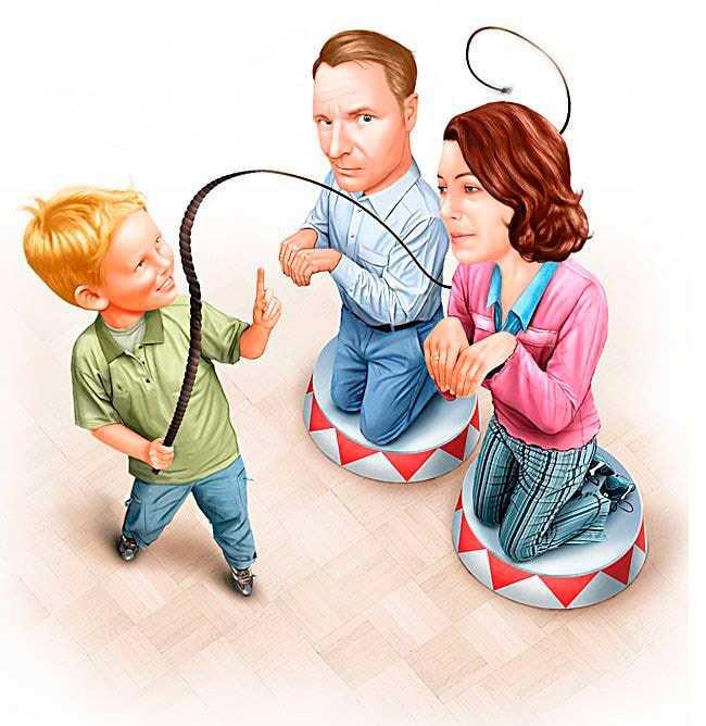 Как нами манипулируют дети: 14 удачных уловок
