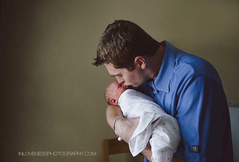 Папа с малышом один на один: что нужно знать об уходе за младенцем?