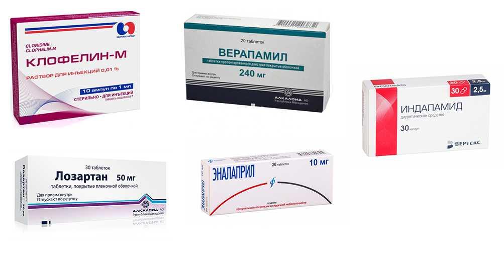 какие можно принимать таблетки от давления при беременности