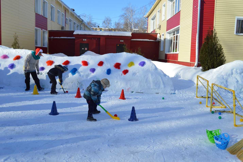 Народные игры и забавы с детьми зимой на свежем воздухе