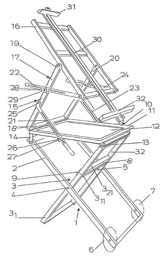 Поделка изделие моделирование конструирование мольберт своими руками дерево
