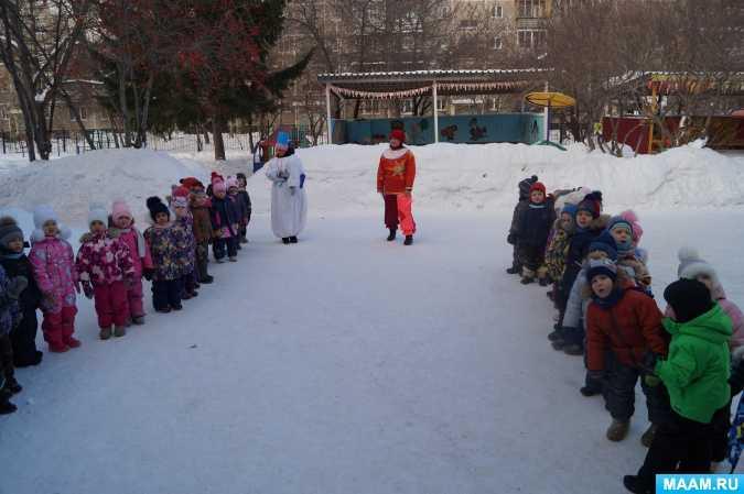 Зимние игры на улице для детей 5-11 лет