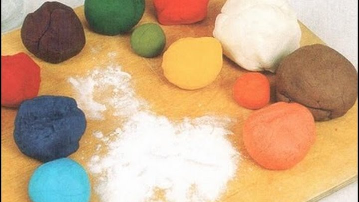 Как сделать пластилин в домашних условиях своими руками: рецепты для дома из воды, муки и соли