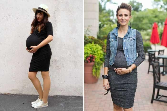 Как выглядеть стильно во время беременности