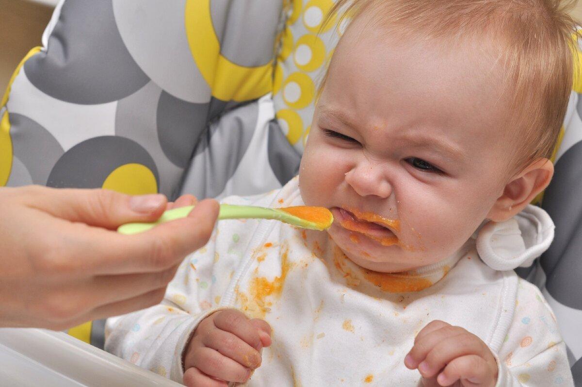 Ребёнок 1,3 года отказывается от еды