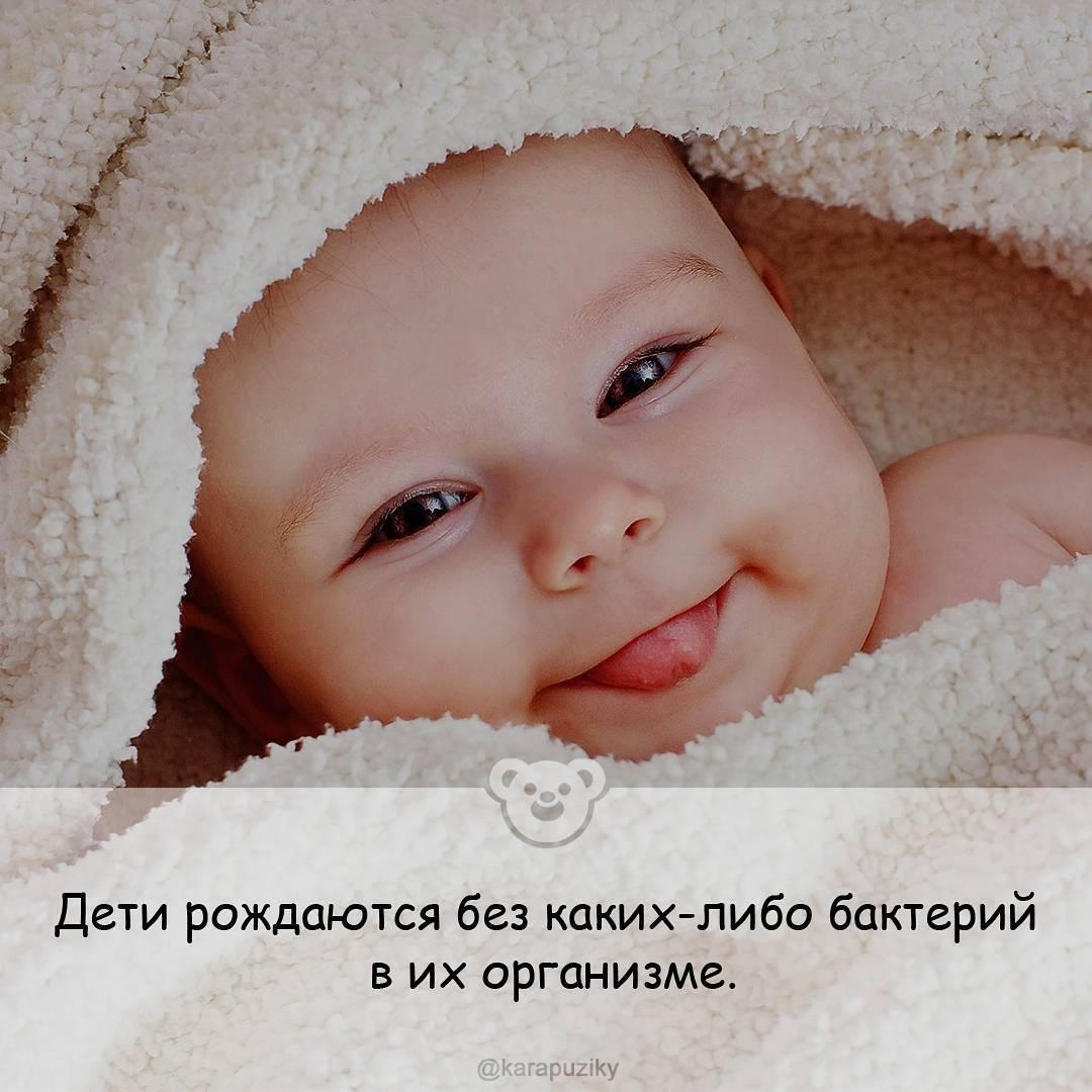 Подборка интересных фактов о новорожденных детях