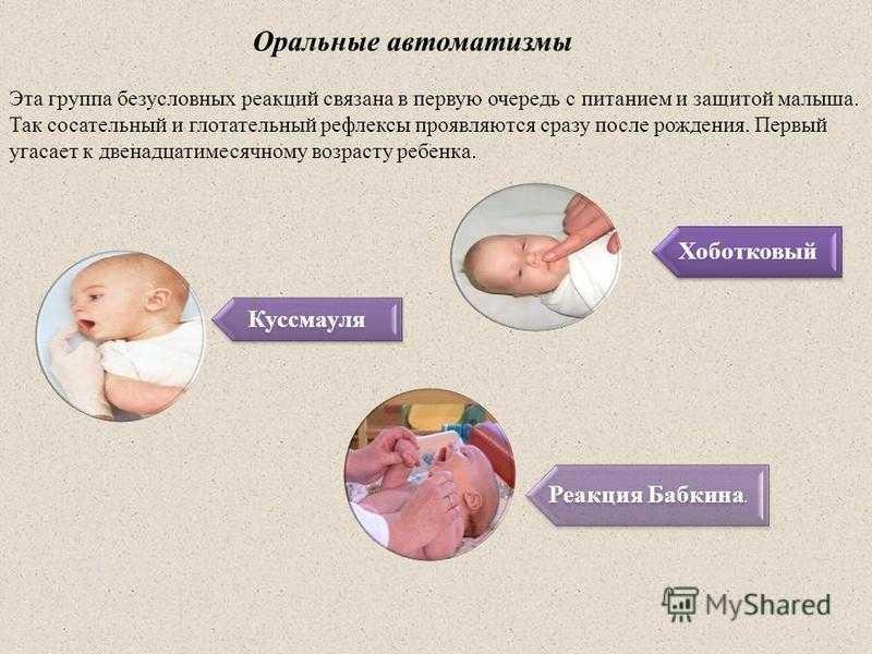 Как восстановить сосательный рефлекс у новорожденного
