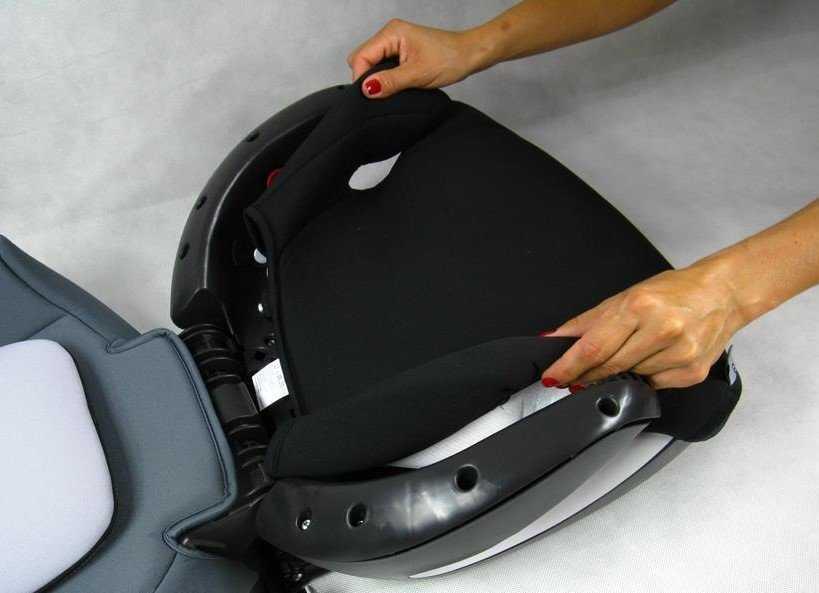 Правильная установка детского автокресла в машину - инструкция