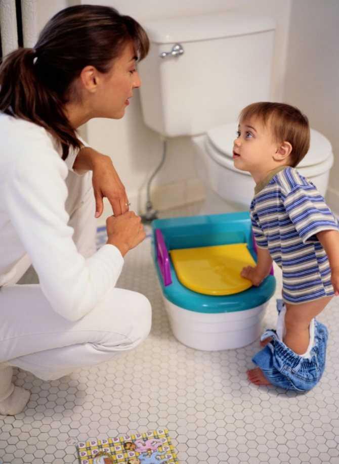 Как приучить ребенка к горшку - zewa