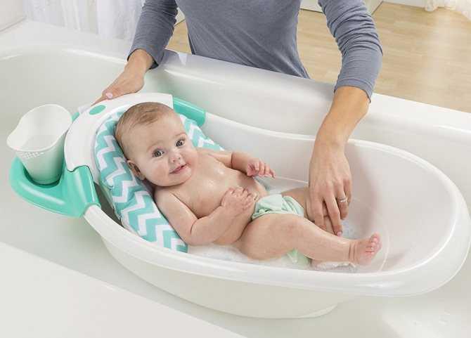 Как выбрать правильную ванночку для купания новорожденного - дополнительные принадлежности для детских ванночек