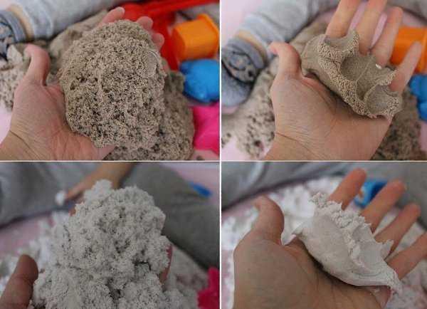 Кинетический песок – что это?