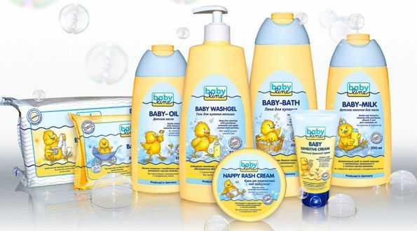 Детские кремы для новорожденных