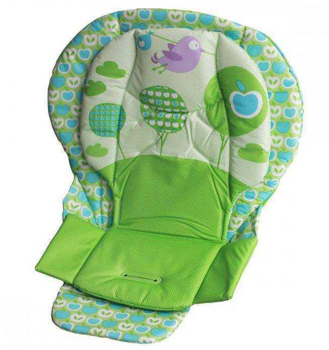 Чехол на стульчик для кормления: универсальные сменные изделия на детский стул