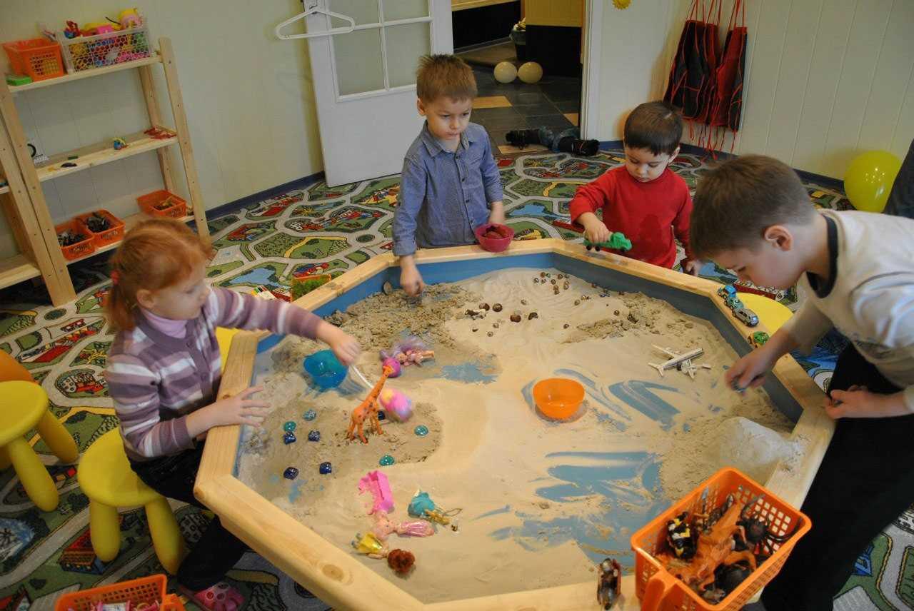 Песочная терапия для детей дошкольного возраста. игры, занятия