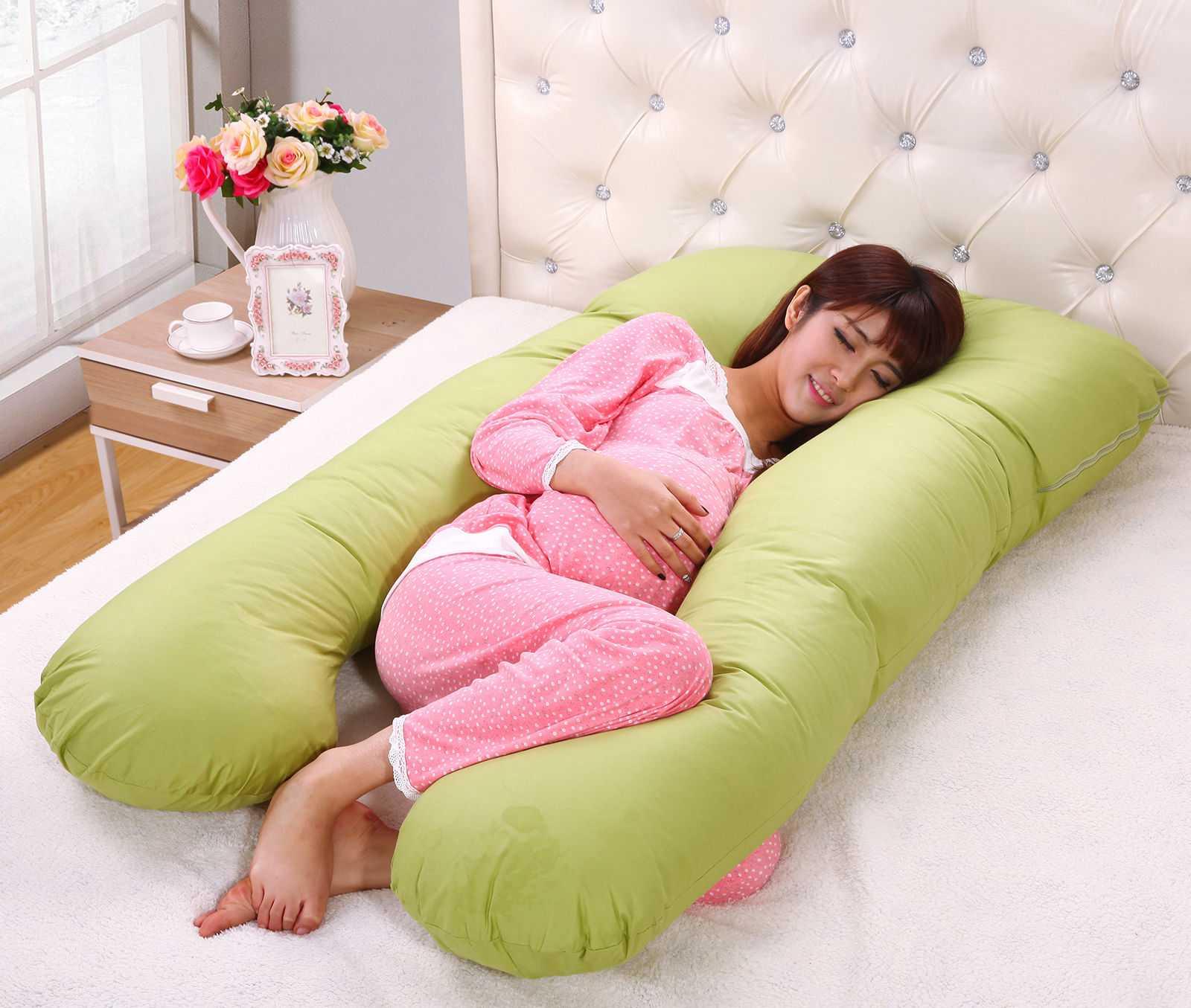 Подушки для беременных: какая лучше по форме выкроек и наполнению, как пользоваться, отзывы потребителей