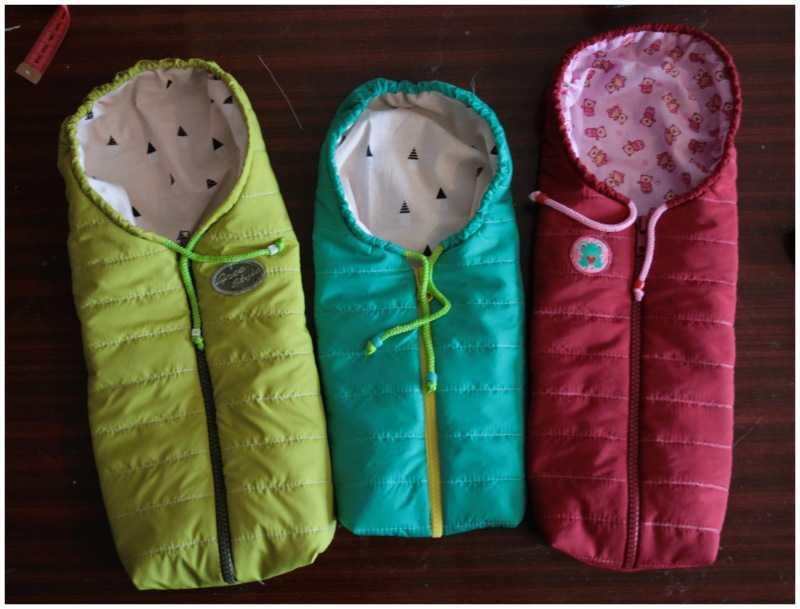 Детский спальный мешок для сна: шьем своими руками