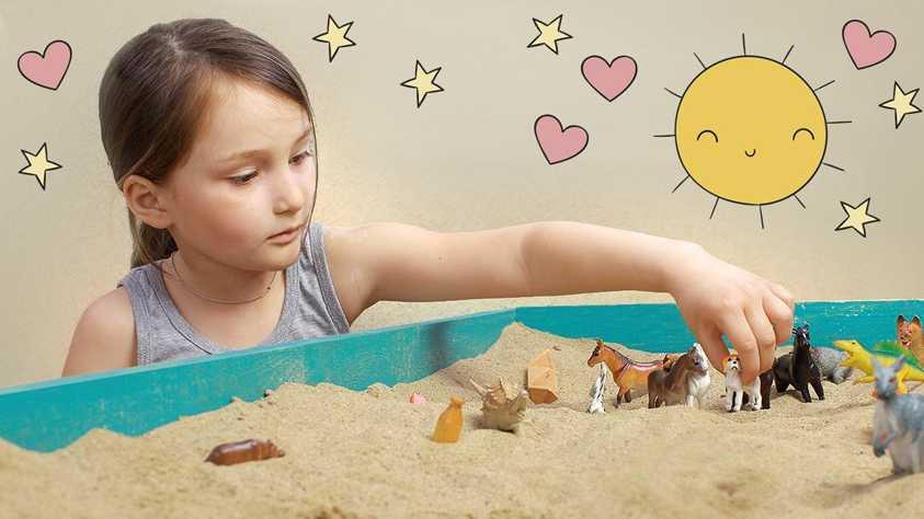 Детская песочная терапия: программа и техника проведения, а также сказки на песке практика песочной терапии