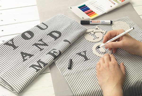 Какими маркерами можно рисовать но одежде: перманентный маркер по ткани