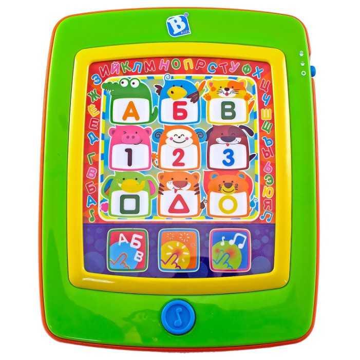 Планшет детский игрушечный: развивающая музыкальная игрушка в виде планшета для детей