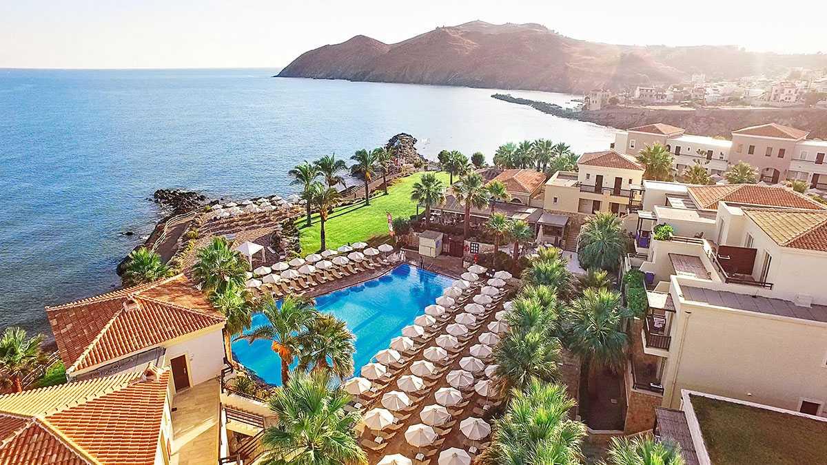 Лучшие отели крита для отдыха с детьми — описание и отзывы: песчаные пляжи, водные горки и пологий вход в море