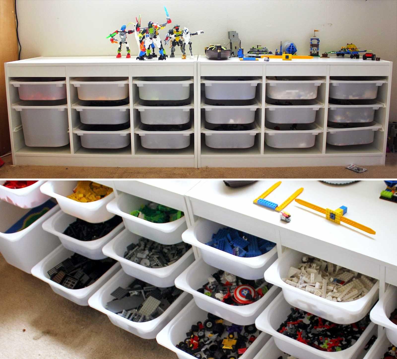 Хранение лего своими руками. хранение lego. рекомендации экспертов и опытных родителей. правила хранения конструктора lego