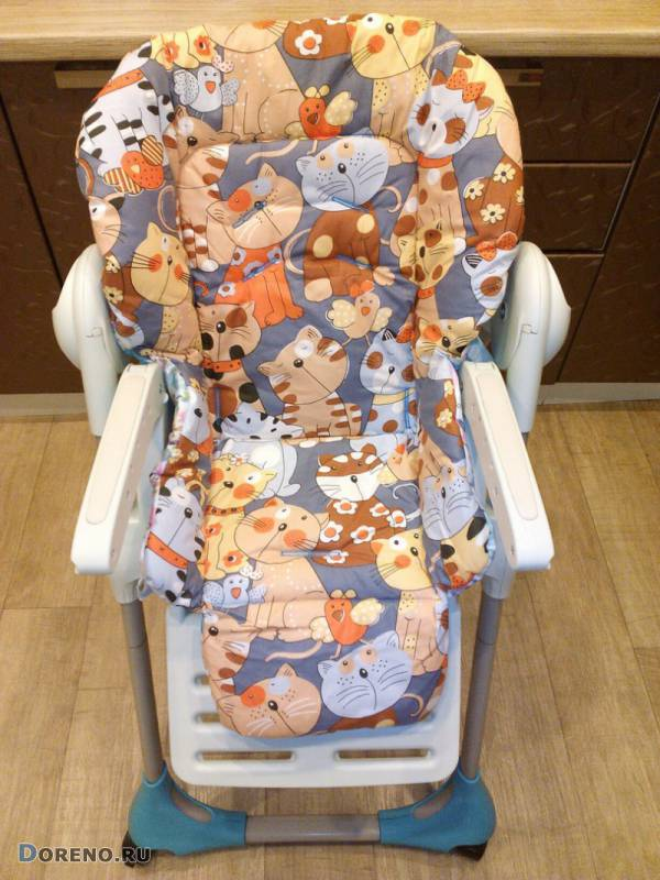 Чехол на стульчик для кормления как сшить чехол на детский стульчик для кормления своими руками съемная накидка на стул для кормления ребенка