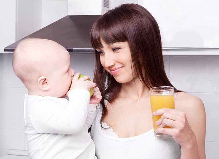 Через сколько алкоголь выходит из грудного молока - топотушки