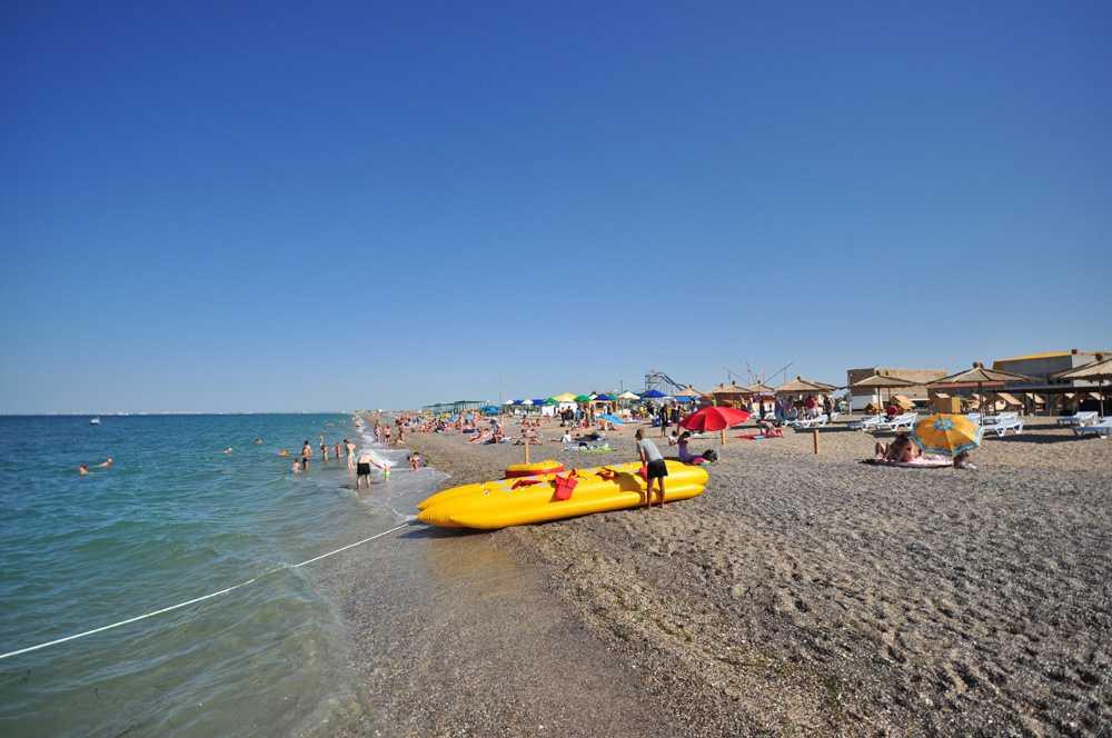 Курорты краснодарского края — с песчаными пляжами на черном море