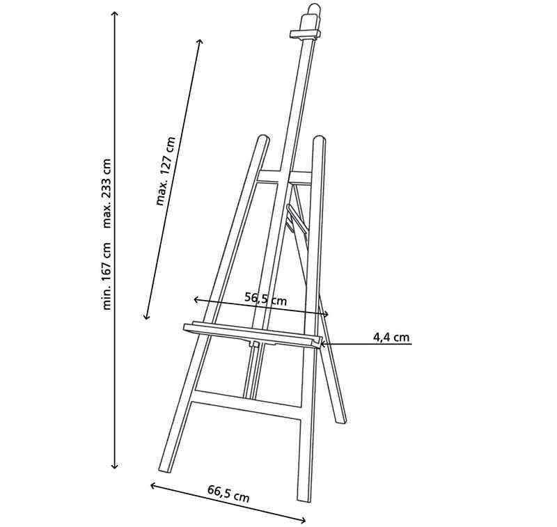 Мольберт: виды, решения и конструкции, чертежи, изготовление, нюансы