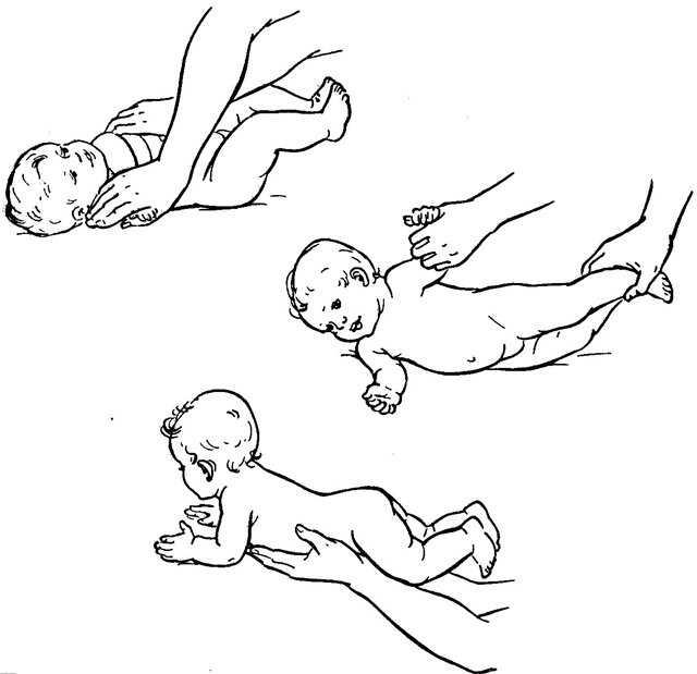 Стоит ли делать массаж грудничкам до года?