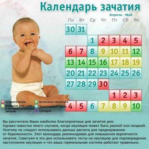 Как рассчитать самый точный день для зачатия с помощью калькулятора овуляции?