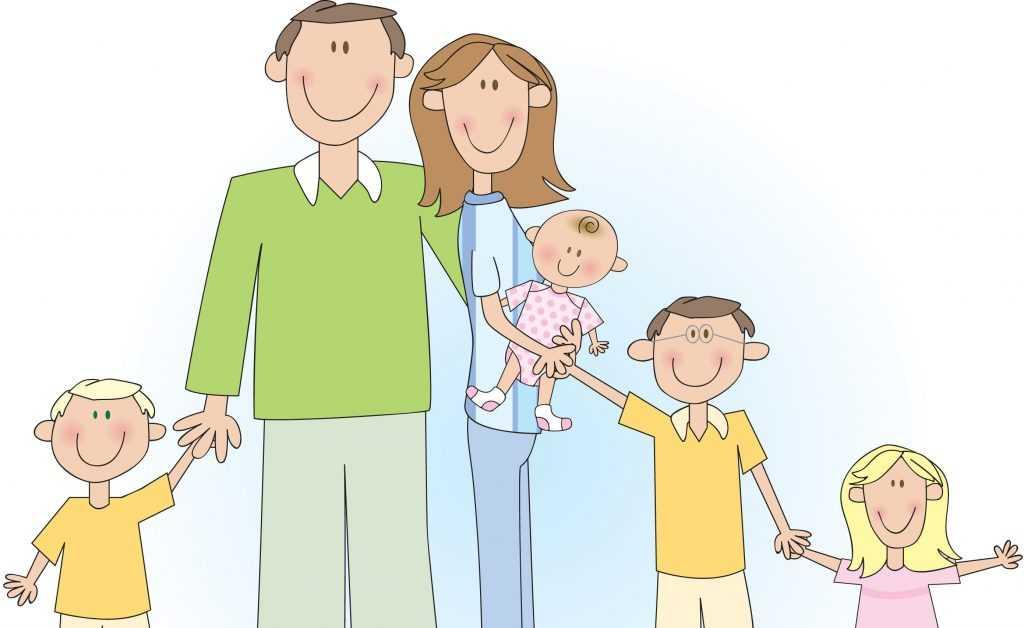 Легкая доля многодетной мамы