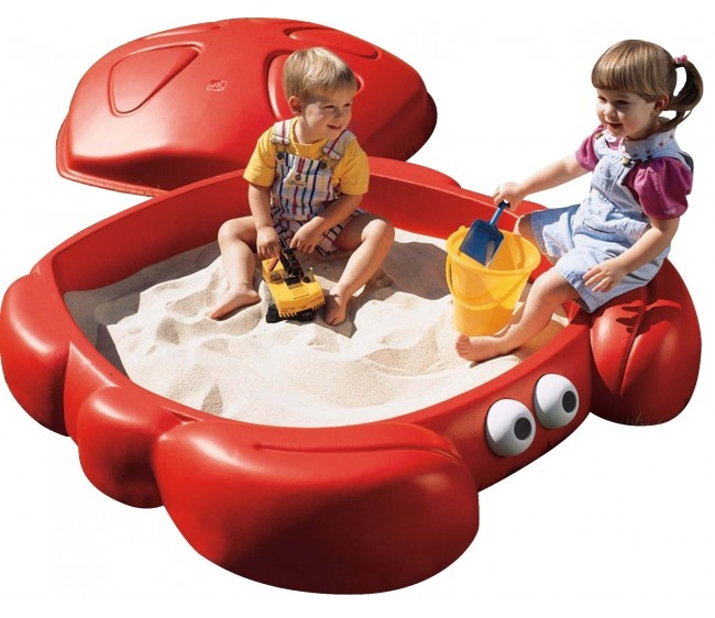 Обзор детских песочниц