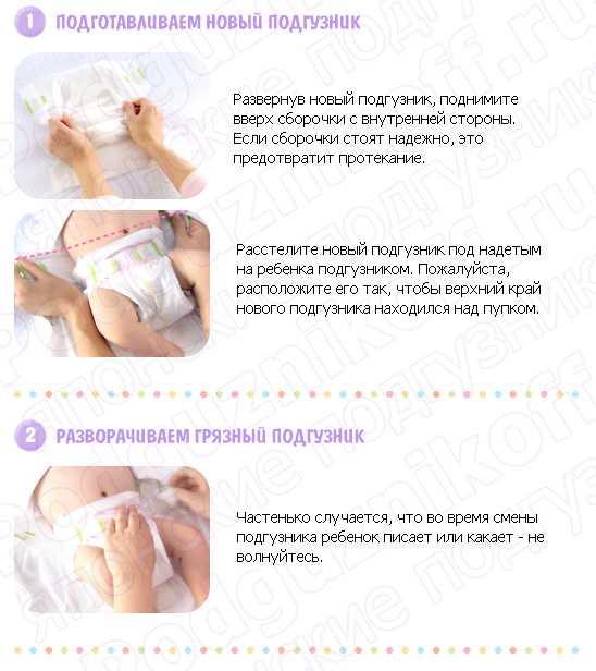 Как часто надо менять подгузник новорожденному?