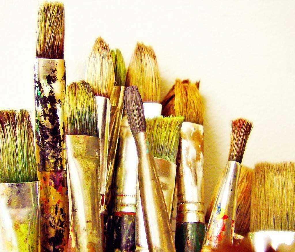 Работа акриловыми красками. как выбрать кисть для акриловой краски
