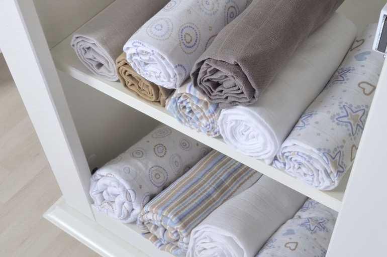 Муслиновые пеленки (23 фото): зачем нужны для новорожденных, что это такое, как стирать набор, отзывы