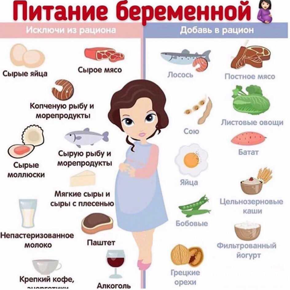 Самые полезные продукты для рациона женщины на 10 неделе беременности