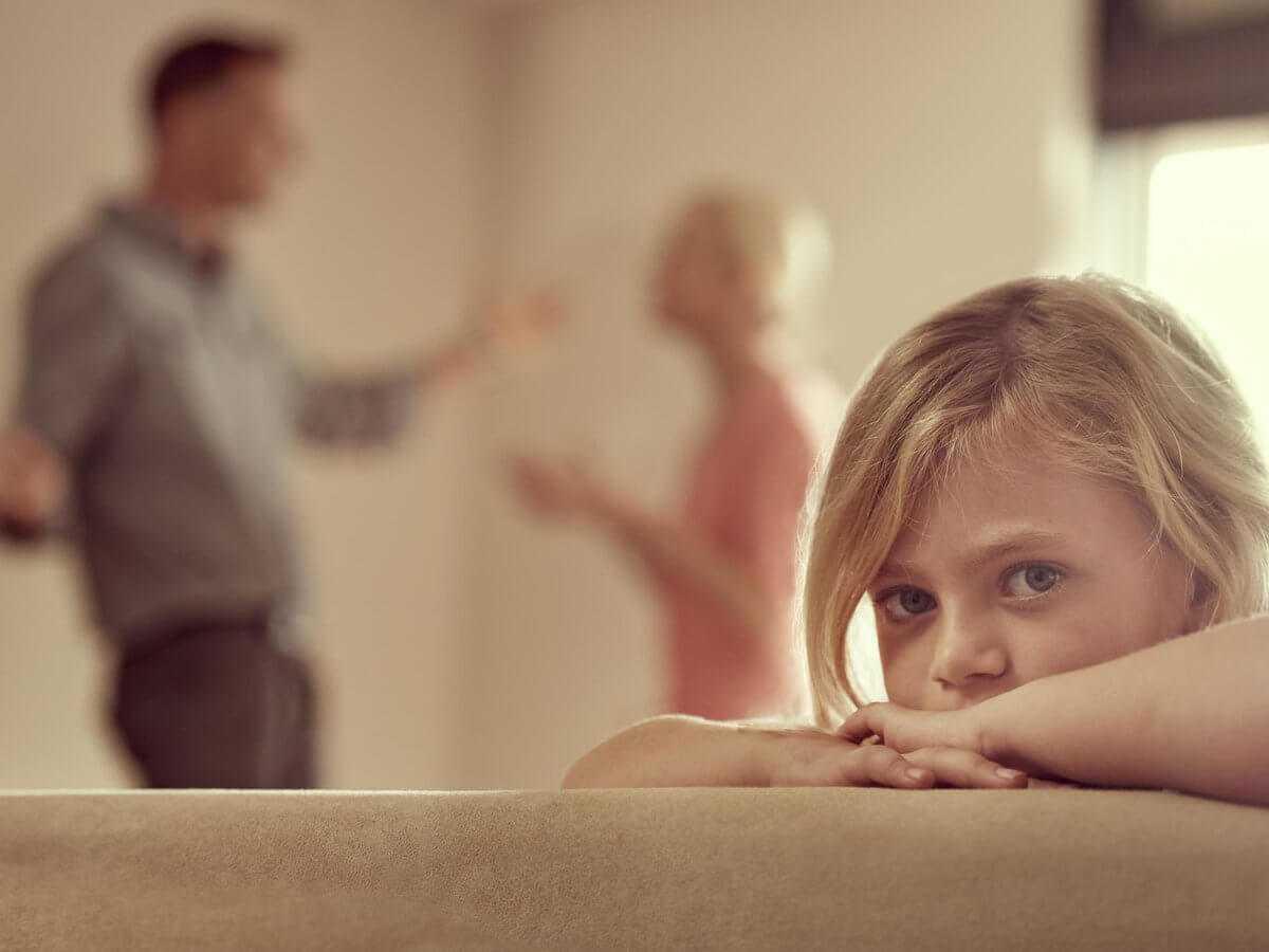Как сказать ребенку, что родители разводятся