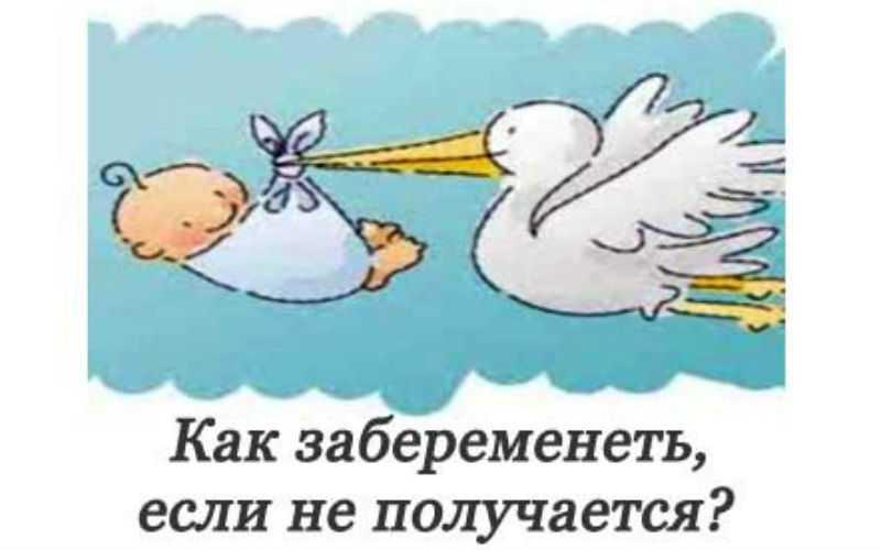 Что делать, если не получается забеременеть 4 месяца, год и дольше? / mama66.ru