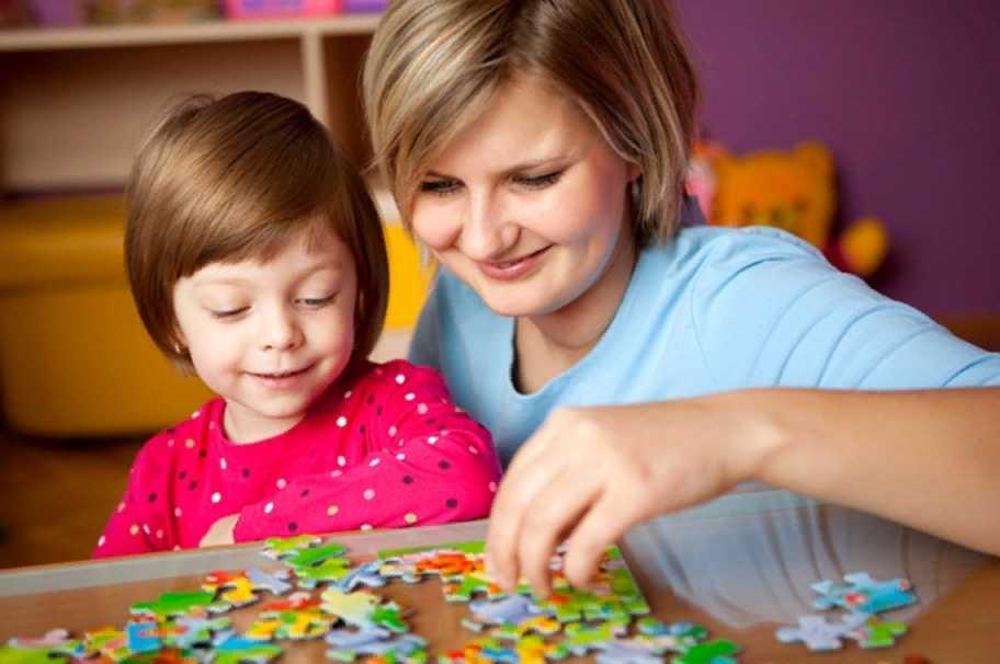 Математические пазлы для детей - считай и складывай