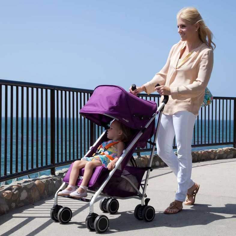 Сравнение 6 моделей колясок-тростей для путешествия с ребенком