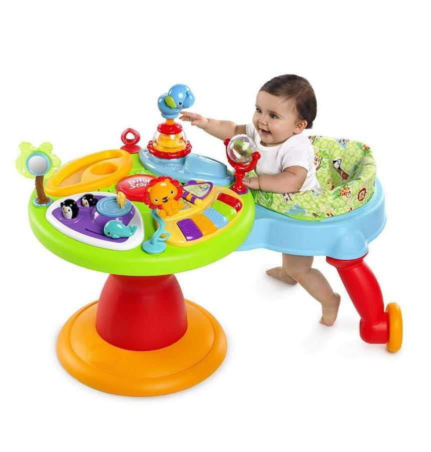 Развивающий столик для малыша: какую модель выбрать?