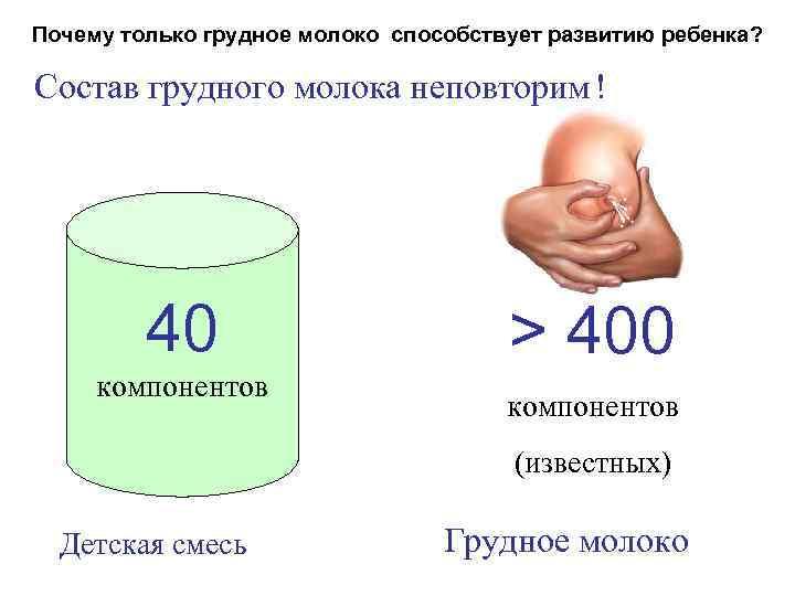 Как вырабатывается грудное молоко